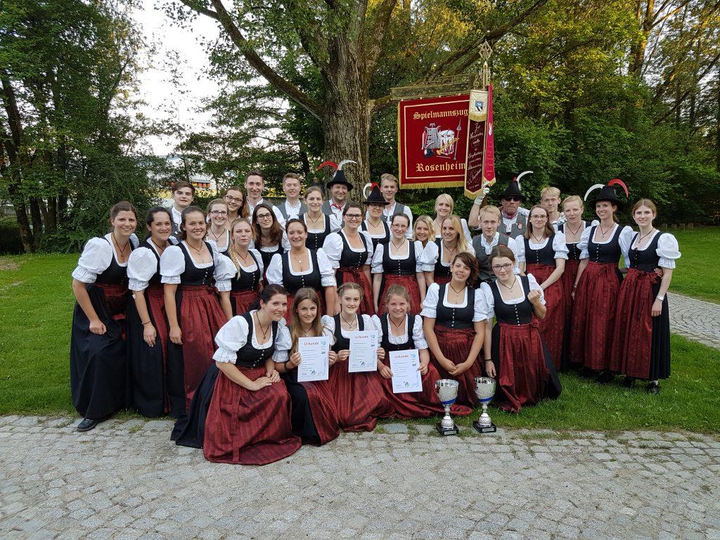 Spielmannszug Rosenheim Meisterschaft 2017