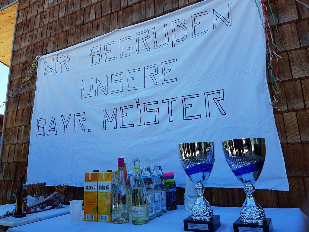 Spielmannszug Rosenheim Meisterschaft 2017 Sektempfang